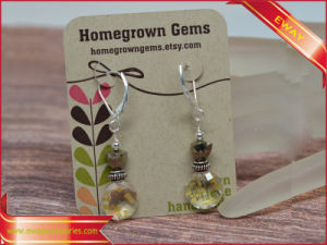 Logo Printed Paper Jewelry Earring Hanging Cards From Factory pictures & photos