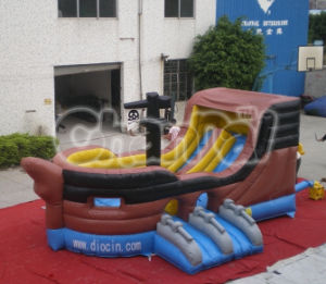 Inflatable Jumping Slide Pirate Ship Slide Chsl234 pictures & photos