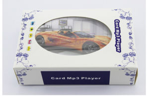 Promotional Gift Credit Card MP3 with Micro SD Card pictures & photos