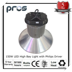 150W LED Factory High Bay Lights, 5 Year Warranty LED Hi Bay pictures & photos