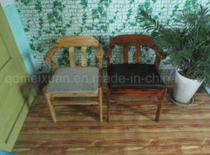Solid Arm Wood Bar Chairs Dining Chairs Modern Chairs (M-X2509) pictures & photos