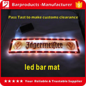 LED Bar Mat, PVC LED Bar Mat, LED Light Bar Beer Mat