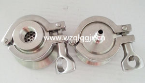 Weld End Sanitary Stainless Steel Air Flow Check Valve pictures & photos