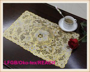 PVC Gold & Silver Plastic Table Mat pictures & photos