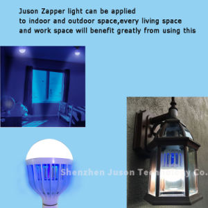 2016 Zap Flies Wasps Mosquitoes Gnats Mosquito Repellent Light Bulb pictures & photos