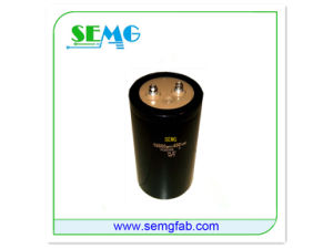 Best Price 2200UF 63V Fan Electric Capacitor pictures & photos