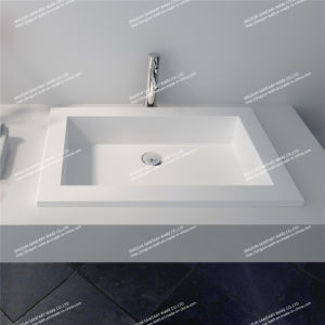 2015 New Solid Surface Bathroom Wash Basin (JZ1011)