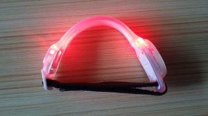 Adjusted Elastics Safety Wristband Glow Band Sport LED Bracelet pictures & photos
