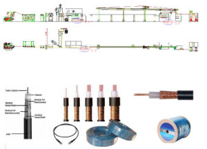 Coaxial Cable Extruder pictures & photos
