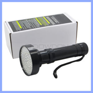 100 LED UV Blacklight Scorpion Flashlight Super Bright Detection Light Outdoor pictures & photos