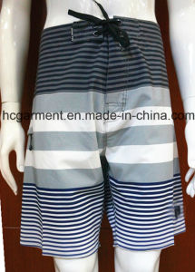 Colorfully Quickly Dry Strip Polyester/Cotton Board /Beach Shorts for Man/Women pictures & photos