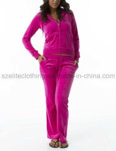 Wholesale Velour Jogging Suit (ELTTSJ-35) pictures & photos