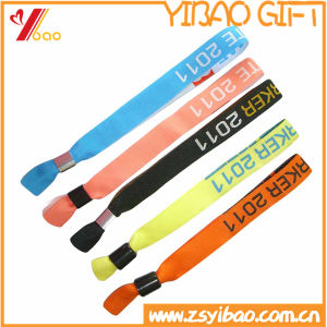 Promotional Woven Fabric Bracelet /Wristband (YB-LY-WR-16) pictures & photos