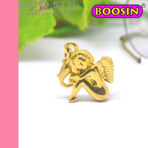 Gold Cupid Angel Charm Pendant Wholesale #17813 pictures & photos