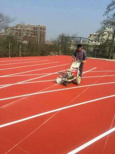 Line Marker Machine for Synthetic Running Track pictures & photos
