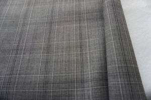 Check Tweed Wool Fabric of 100% Wool pictures & photos