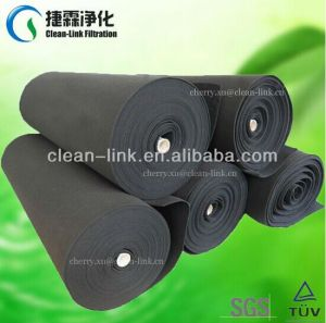 High Quality Activated Carbon Filter Pads in Roll Size pictures & photos