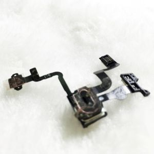 High Quality Power Push Button Switch Sleep Wake Flex Cable Metal Replacement for iPhone4s pictures & photos