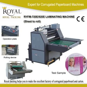 Thermal Laminating Machine for Paper pictures & photos