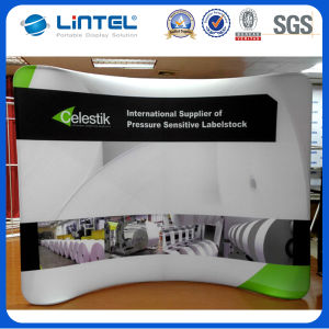 10FT Horizontal Curved Tension Fabric Exhibition Display (LT-24) pictures & photos