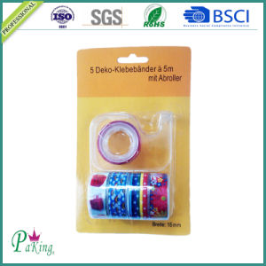 BOPP School Stationery Tape with Dispenser pictures & photos