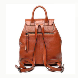 2017 Latest Designer PU Backpack High Quality Ladies Backpack Made of PU Leather Wzx1025 pictures & photos