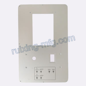 CNC Milling Machining Plate Aluminum Panel for Instruments and Sensor Accessories pictures & photos