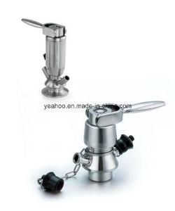 Aseptic Sanitary Sampling Valve Stainless Steel Manual Pneumatic Sample