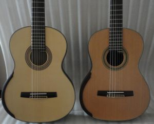 Aiersi Master Level Concert Solid Classical Guitar Sc098SPF pictures & photos