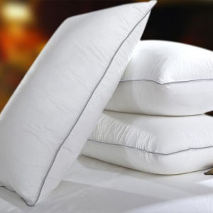 Synthetic Down Alternative Standard Size Medium Head Pillow (DPF107150) pictures & photos