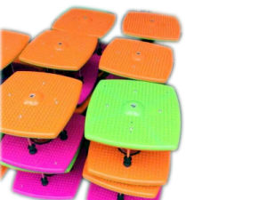 Designed and Colorfful Dancing Stepper