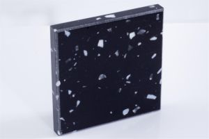 Black Modified Acrylic Artifical Stone Slab Bll-Bm6611 pictures & photos