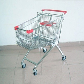 High Quality Shopping Trolley Manufacture 08023 pictures & photos