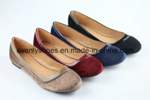 Flat Heel Sexy Ballet Lady Shoes for Autumn pictures & photos