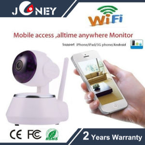 Wireless Robot P/T WiFi Mobile Access Alltime Anywhere Baby Monitor IP Camera pictures & photos