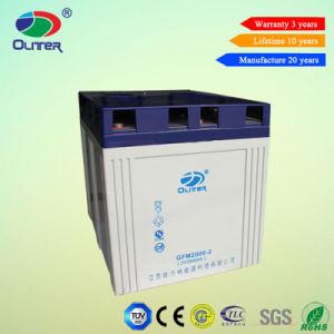 2V 2000ah Lead Acid Battery for Solar Backup System