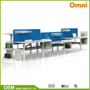 2016 New Hot Sell Height Adjustable Table with Workstaton (OM-AD-131) pictures & photos