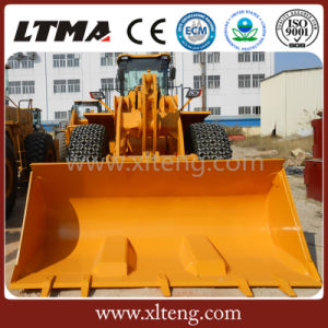 Ltma 6 Ton Front End Wheel Loader with Bucket pictures & photos