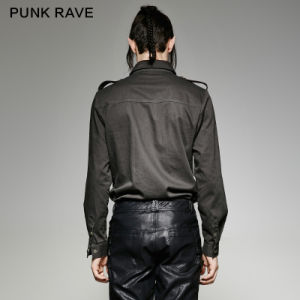 Y-715 Punk Rave Excellent Quality Rugged Military Uniform Specially Men Shirts pictures & photos