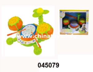 Musical Set Jazz Drum Toy with Music and Light (045079) pictures & photos