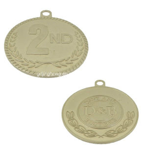 Zinc Alloy Medal in Brushed Silver Color pictures & photos