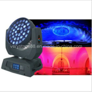 36PC 10W 4 In1 Zoom LED Moving Head Wash pictures & photos