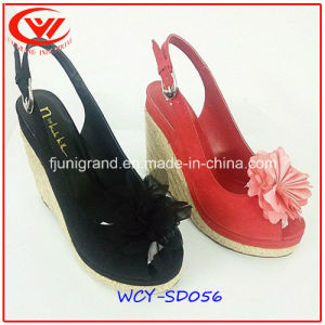 Fashion High Heel Flip Flops Women New Model Sandals pictures & photos
