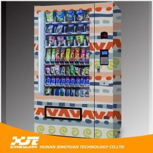 Outdoor Combo Vending Machine for Snacks and Drinks pictures & photos