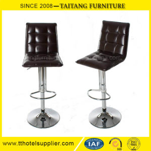 High Adjustable PU Leather Bar Chair pictures & photos