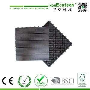 China Supplier WPC Interlocking Decking Tile/WPC Decking Tile/WPC DIY Tiles pictures & photos