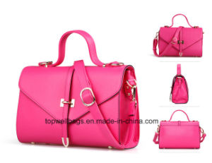 New Fashion PU Women Leisure Ladies Handbag