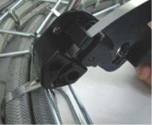 304 Stainless Steel Zip Tie Self Locking Type pictures & photos