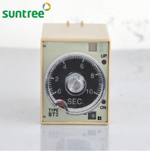 AC 110V Delay Timer Time Relay Super Timer Relay St3PF 12V pictures & photos