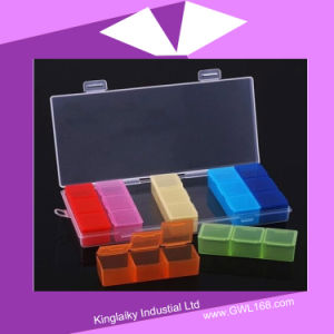 Customized Pill Box with 21 Cases (BH-038) pictures & photos